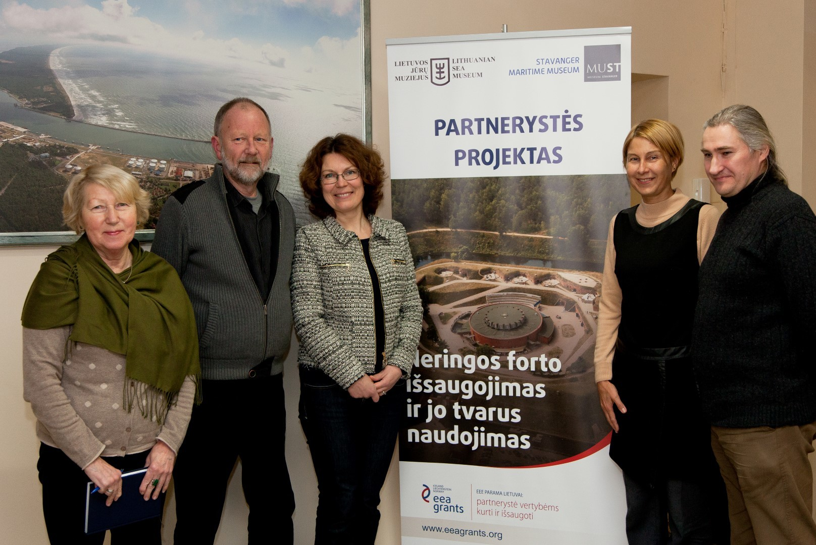 Project partners meeting in 2015